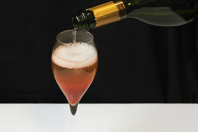 Blood orange and Ruinart cocktail © ROH Restaurants