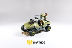 Lego Halo 3 Warthog