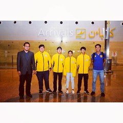 The Brunei Darussalam Athletic Contingent in a group photo upon arrival from Ho Chi Minh at the Brunei International Airport. Read all about it in Borneo Bulletin.  Photo by Khairil Hassan  #Journalist #Photographer #PhotoJournalist #SportsJournalist #Spo