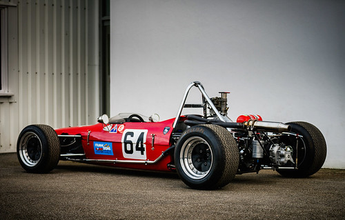 Frank Lyons - 1968 Merlyn Ford Mk10 at the Goodwood 74th Members Meeting (Photo 1)