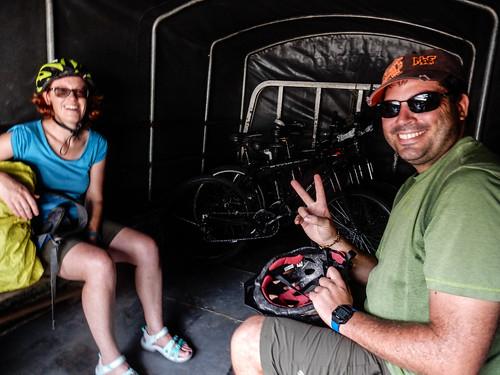 Baños: retour en camioneta