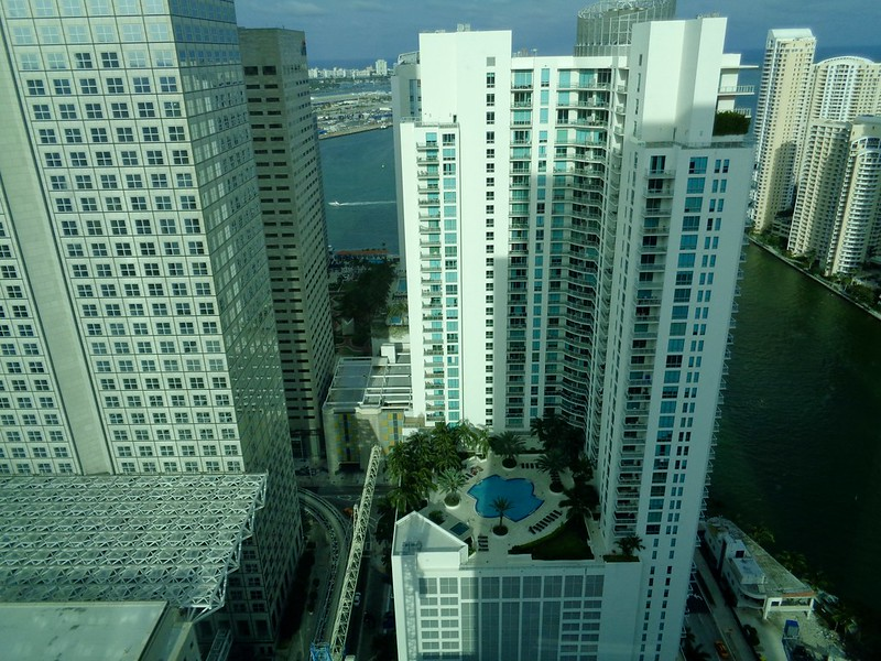 View from Beaux Arts Hotel, Miami