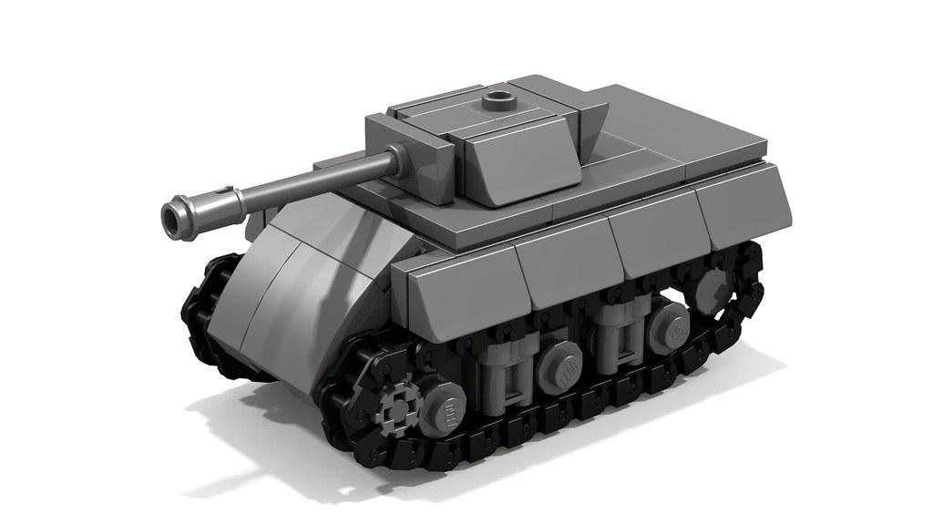 M10 Wolverine mini tank destroyer