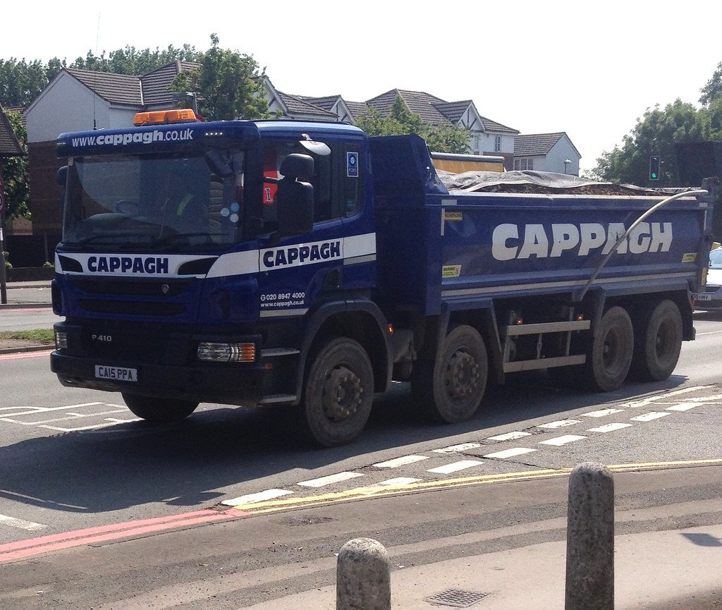 CAPPAGH Scania P410 8 Wheeler CA15PPA Kingston Rd Tolworth 9 6 16