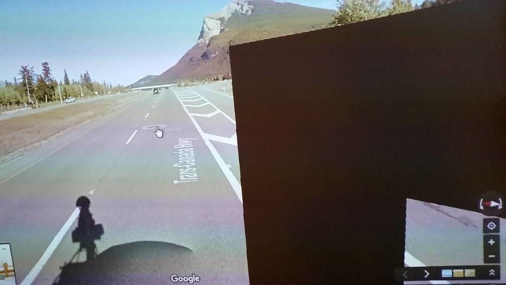 Data loss #ridingthroughwalls in Dead Man's Flats #glitch #googlestreetview