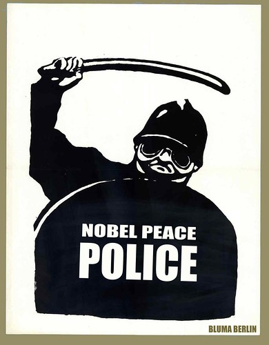 NOBEL POLICE by WilliamBanzai7/Colonel Flick