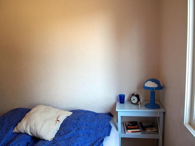 Bedroom before.