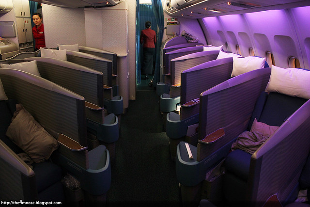 CX715 - Business Class Cabin