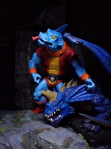 Fang Man With His Dragon