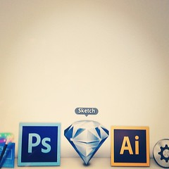 Looks like @sketchapp found a new home on my dock.