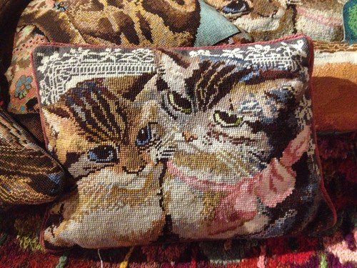 Kaffe Cat Cushion