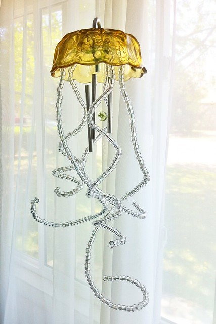 Leviathan inspired huxley/jellyfish wind chime