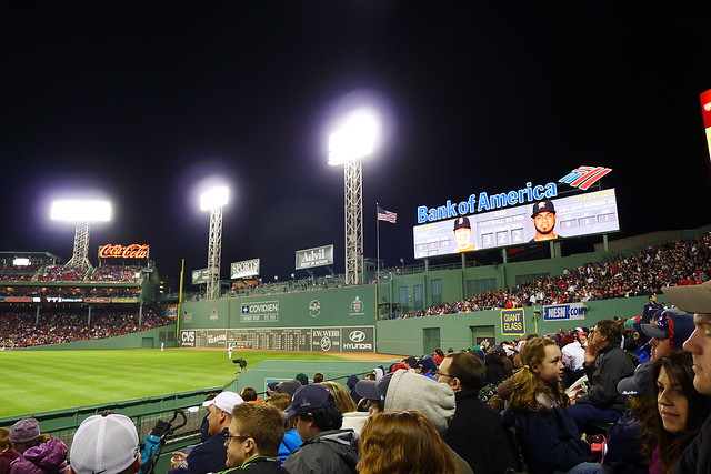 green monster under the lights