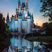 Cinderella Castle Sunrise by .Mearn