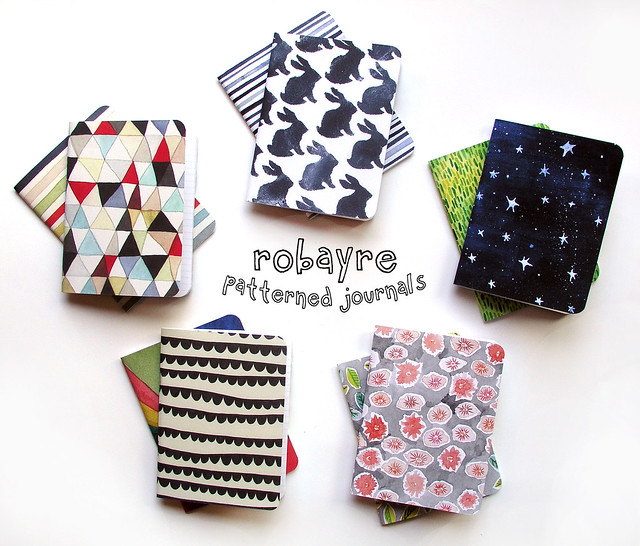 Robayre Patterned Books