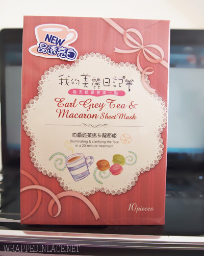 My Beauty Diary Earl Grey Tea & Macaron Sheet Mask Review