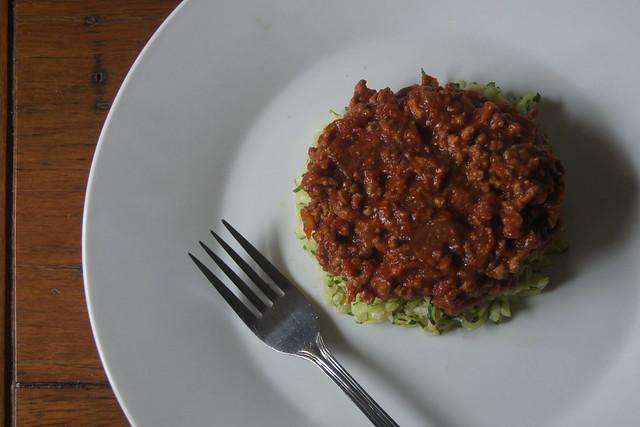 zucchini bolognese DSC01238