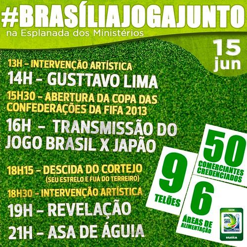 """Brasília Joga Junto"""