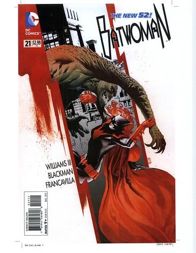 Batwoman #21 cover logo