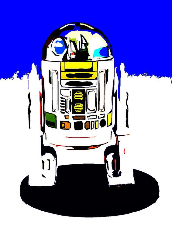 psybertech's Star Wars Figures Artwork Limelight 9110632300_7c87be1978_c