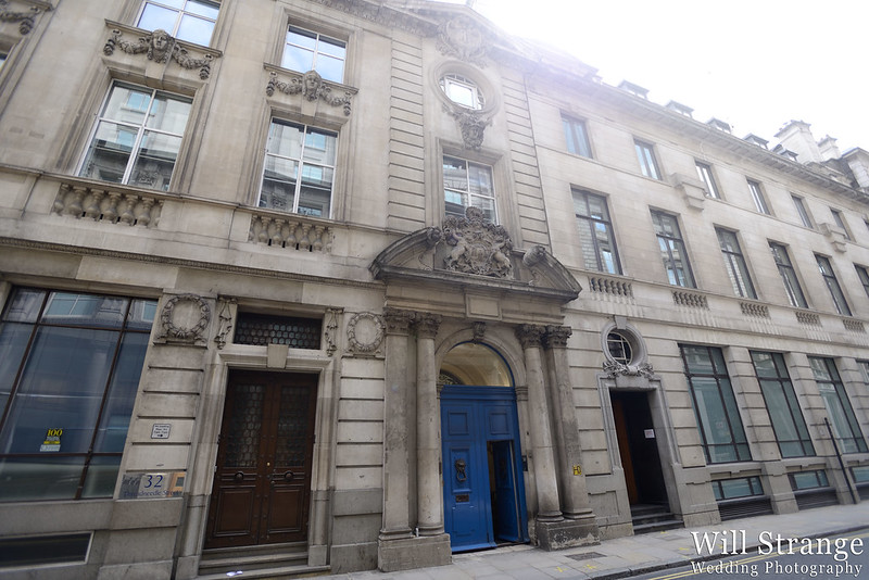 Merchant Taylor's Hall exterior