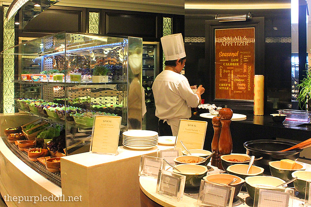 Salad and Appetizer Section at Spiral Sofitel Manila