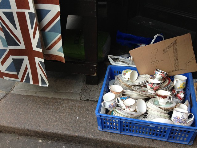 Union Jack & Tea Cups
