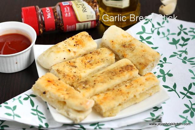Garlic bread sticks 1
