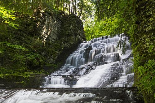 hot water canon waterfall fresh spray glen heat fillmore refreshing 2013