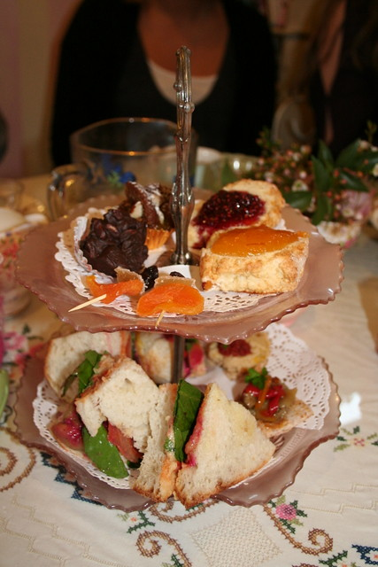 Vegan High Tea at Martha's Pantry