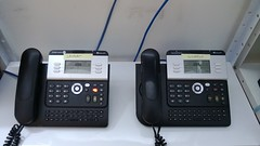 corded phone, telephone, fax, answering machine,