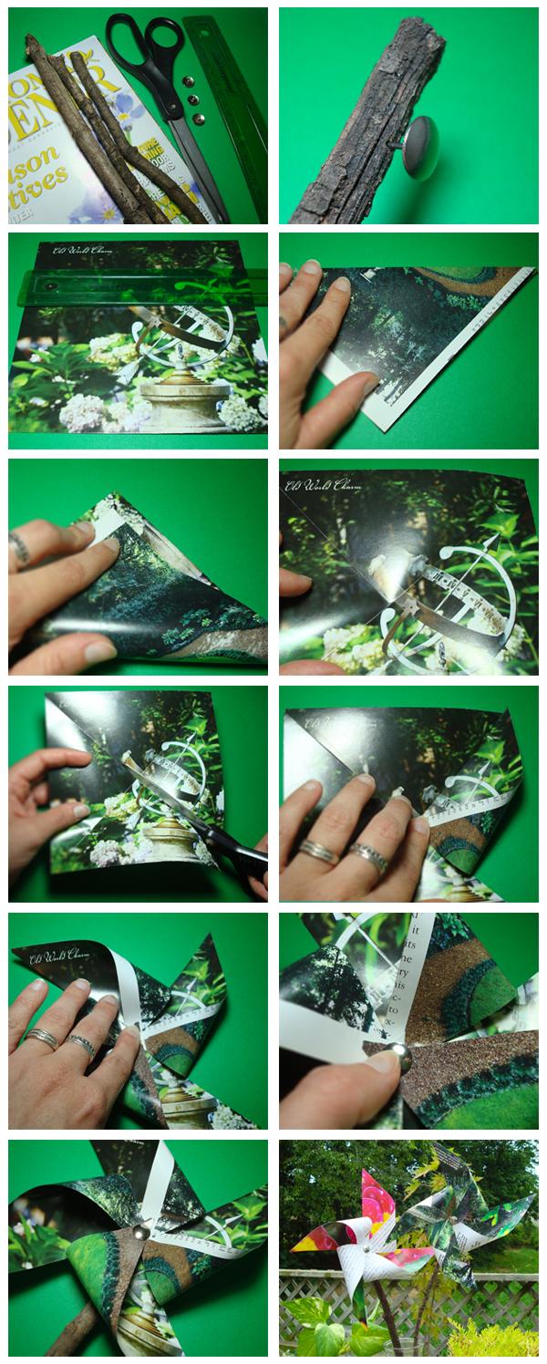 Magazine Pinwheels