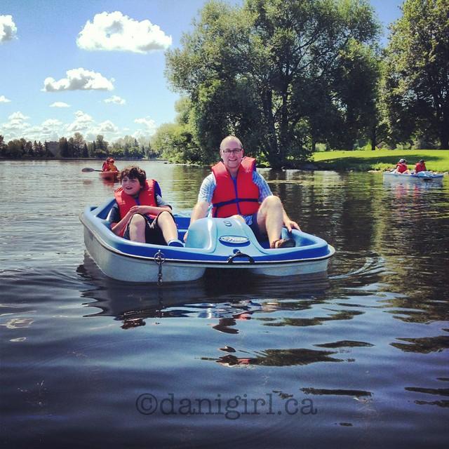 陶氏湖脚踏船