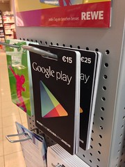 Google play - Guthabenkarte