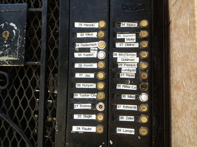 large apartment building rows of door bells explore lynn