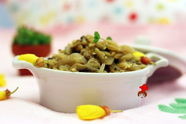 蘑菇義大利米麵 Mushroom Orzo 6