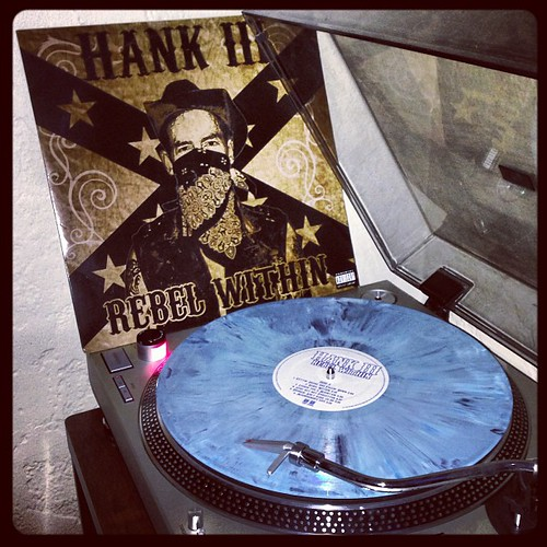 #todaysoundslikethis #hank3 #rebelwithin #nowspinning #photographicplaylist #clubrpm #elpee #vinyligclub #rsd by Big Gay Dragon