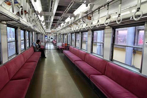 搭一畑電車前往出雲大社