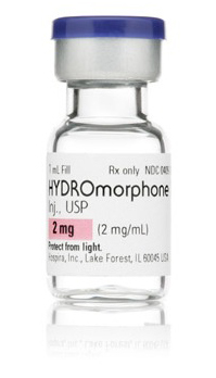 hydromorphone iv 2mg 1ml vial Hospira