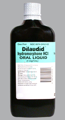 Dilaudid hydromorphone oral solution 1mg/ml Abbott