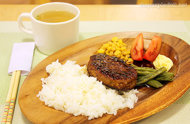 TAWARA Hamburg Steak with Teriyaki Sauce (P320)