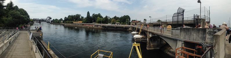 Hiram M. Chittenden Locks, Seattle WA