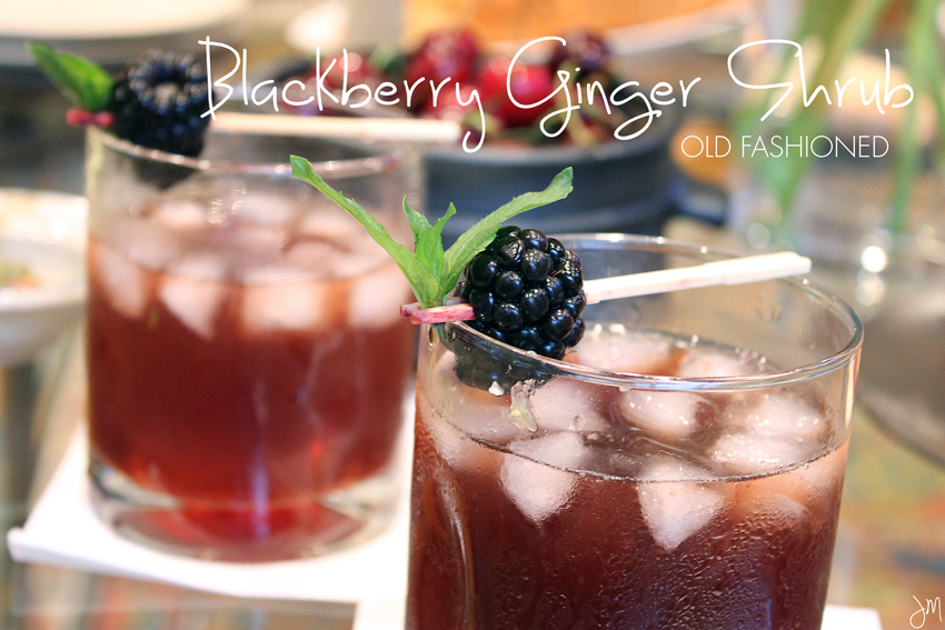 Julip Made Blackberry Ginger Shrub Old Fashioned4
