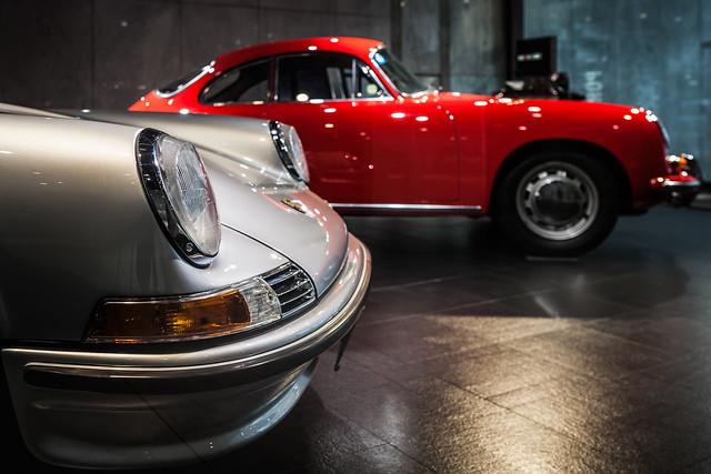 20130829_02_Porsche 911T (Type-901) & 356C 1600C