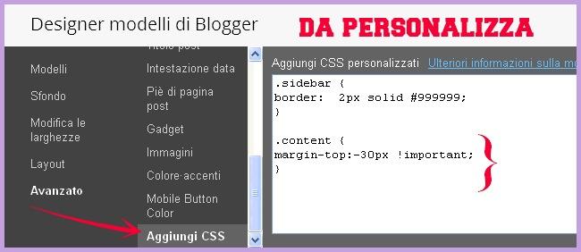 Designer modelli di blogger, come rimuovere la navbar, http://cecrisicecrisi.blogspot.it/