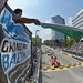 The green flag flies to start the 2013 Grand Prix of Baltimore