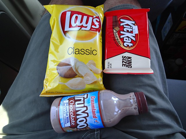 American Gas Station Food