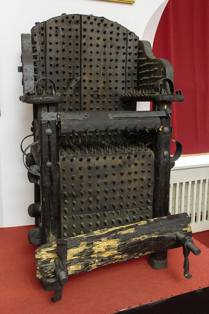 כסא אינקוויזיציה לגילוי מכשפות