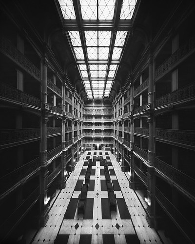 The Library (8x10 Pinhole Photograph)