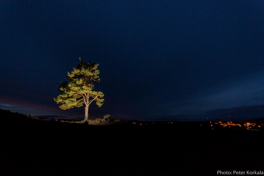 Natt vid Falu Gruva